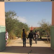 entrée du collège à Boukhlol