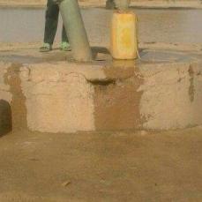 puits avant travaux