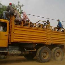 camion du retour des réfugiés
